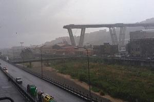 Десятки людей загинули при обваленні моста в Генуї