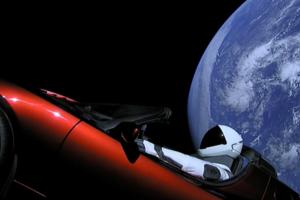 Tesla в космосе: Маск спрятал секретный груз в электрокар