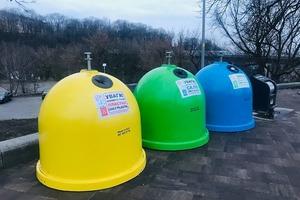 В КМДА отчитались о закупке контейнеров для раздельного сбора отходов