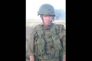 Российский солдат сжег БТР и РПГ, разогревая еду на полигоне (видео 18+)