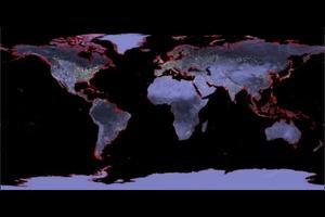 Через 72 года многие страны уйдут под воду. Климатологи показали карту