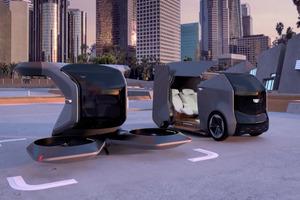 GM представляет беспилотный Cadillac, способный летать