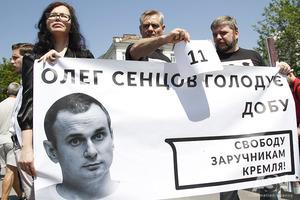 Творческая элита потребовала у российского посольства освободить украинских политзаключенных