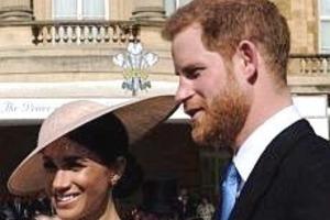 Принц Гарри и Меган Маркл впервые вышли в свет как супружеская пара