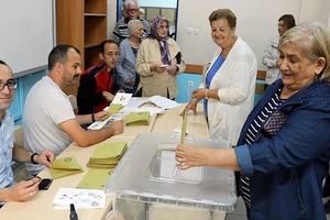 В Турции проходят президентские и парламентские выборы