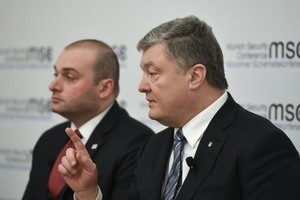 Порошенко: Украины не будет, если она перестанет стрелять