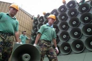 Южная Корея выключает громкоговорители на границе с КНДР