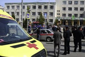 Взрыв и стрельба прогремели в казанской школе. Погибли 11 человек