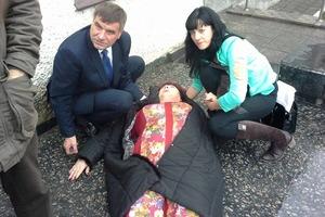 Политика по-винницки: Заммэра избил женщину-депутата