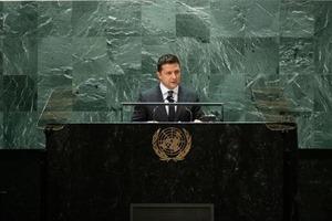 Зеленский выступил на заседании Генассамблеи и призвал «оживить» ООН