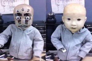 Ученые хотели создать робота-ребенка, но получилось исчадие ада
