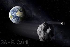 Астрономы ждут  падения очередного большого астероида на Землю