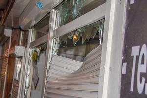 Нацкорпус устроил погром лотерейных киосков в Киеве