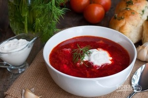 Украинский борщ - лучшее блюдо для очищения организма от токсинов
