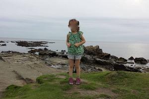 На детской фотографии разглядели призрак самурая