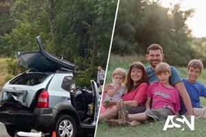 Опубликовали фото семьи, погибшей в ужасном ДТП  под Киевом