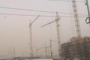 Донецьк накрила пилова буря, на підході ще одна