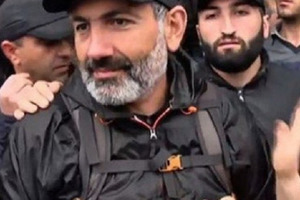 Протесты в Ереване. Задержан лидер оппозиции Никола Пашинян