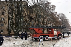 От взрыва в Фастове мужчина выпал с пятого этажа