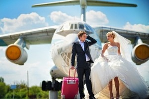 В аэропорту Борисполь сыграли первую свадьбу
