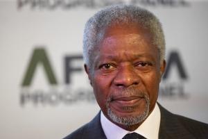 Помер легендарний генеральний секретар ООН Кофі Аннан