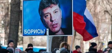 В Москве марш памяти Бориса Немцова: задержаны несколько человек
