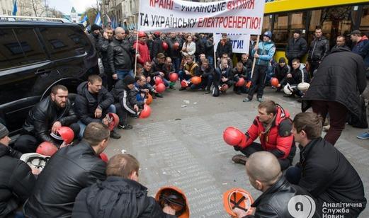 Кто стоит за акциями протеста в Киеве?