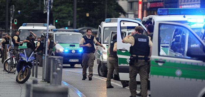 Мужчина совершил самосожжение на центральной площади Мюнхена