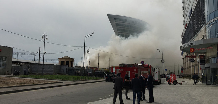 УМоскві сталася велика пожежа: є жертви