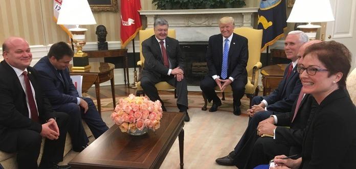 Порошенко встретился в овальном кабинете с Трампом