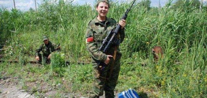 Агентура: НаДонбассе русский снайпер Загуляева впьяном состоянии угодила вДТП