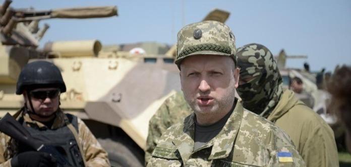 Турчинов призвал кскорейшему введению Украинским государством визового режима сРоссией