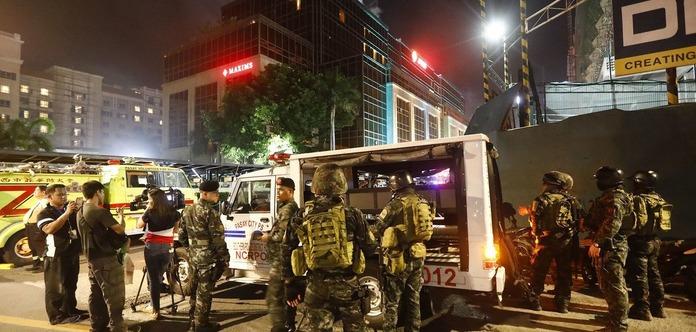 УМанілі загинув озброєний нападник наготельний комплекс