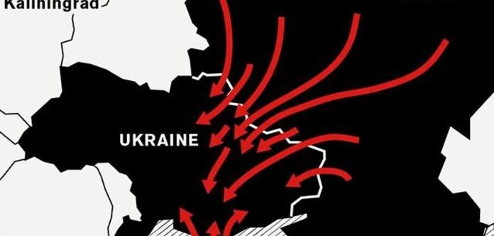 Депутат Рады назвал три вероятных направления атаки русской армии на государство Украину