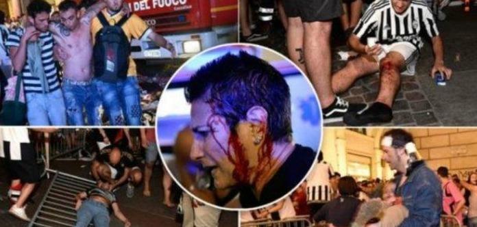Вдавке вТурине пострадали практически 600 фанатов «Ювентуса»