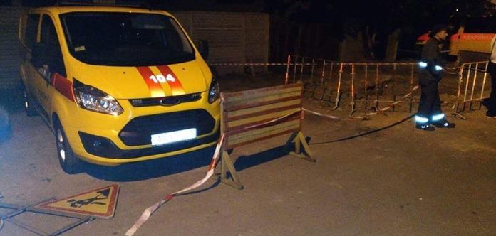 Встолице обстреляли аварийную бригаду Киевгаза