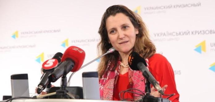 У МЗС РФ розповіли про умови скасування санкцій щодо Фріланд