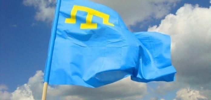 Крымские татары отмечают День государственного флага