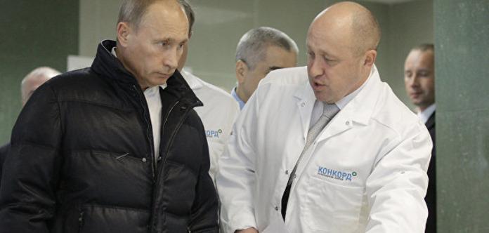 Путин отпразднует день рождения своего повара
