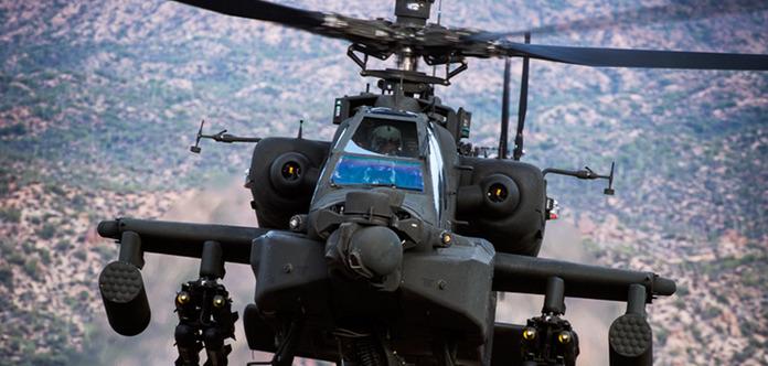 Впервый раз вертолет ВВС США сбил беспилотник спомощью лазера