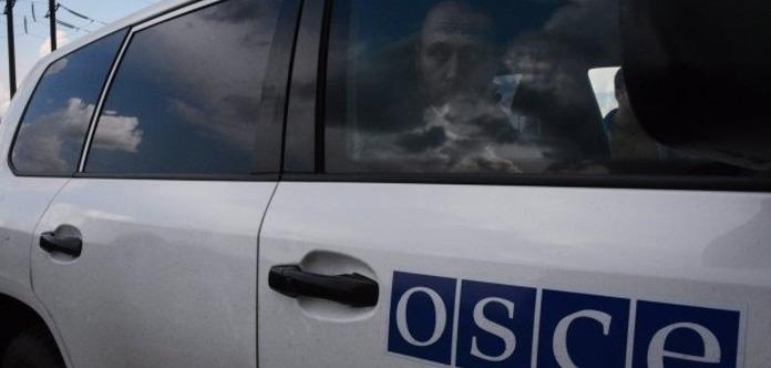Миссия ОБСЕ заметила военную технику возле границы сРФ