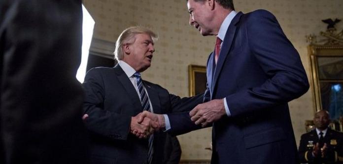 Трамп після мовчанки уTwitter відреагував насвідчення екс-директора ФБР Комі