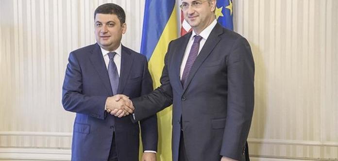 Україна готова приєднатися доформування газового коридору зУгорщиною таХорватією— Гройсман