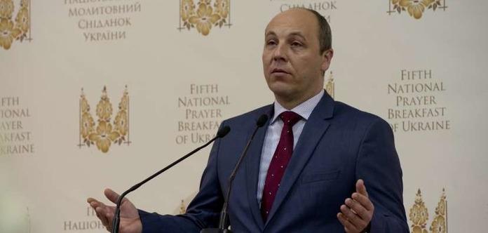 Парубий объявил, что вступление Украины вНАТО необходимо прописать взаконе