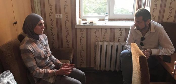 Аміна Окуєва розповіла подробиці замаху нанеї і чоловіка