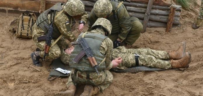 Взоне АТО ссамого начала года взоне погибло 98 военных