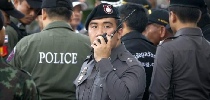 Отряд милиции направили втайскую деревню для охраны граждан отпризрака
