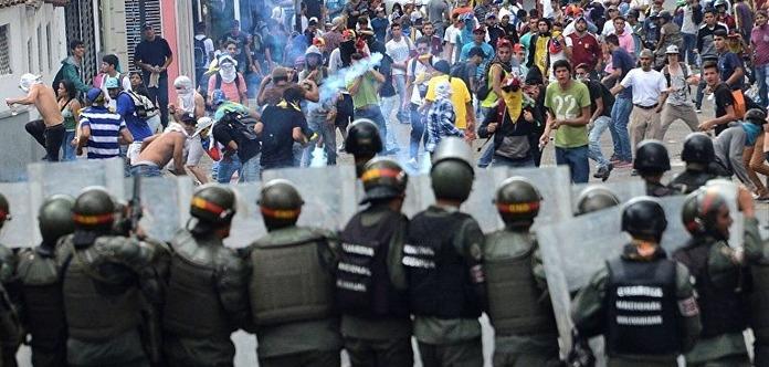 Впроцессе протестов вВенесуэле умер ребенок