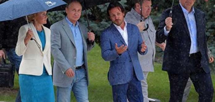 МИД Украины выразил протест всвязи свизитом В. Путина вКрым