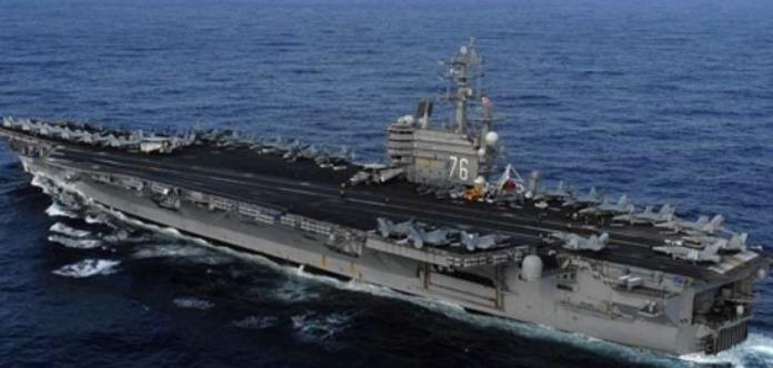 К Корейскому полуострову Америка направила авианосец Ronald Reagan